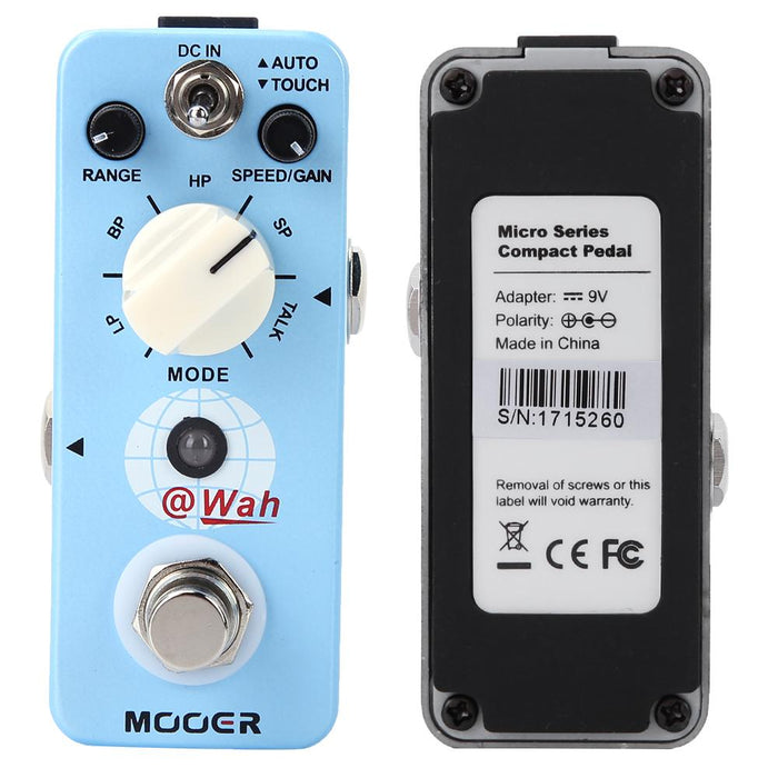 Adjustable Electric Digital Auto Wah for Bass and Guitar Players