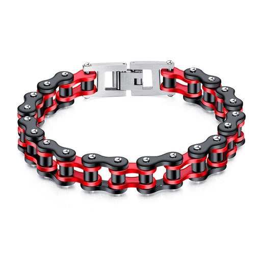 Personality trend motorcycle bicycle bracelet men