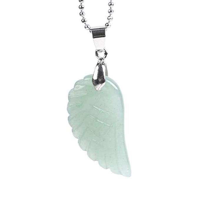 "Necklace and Pendant ""Angel's Wing"" in Natural Stones - 8 stones available"