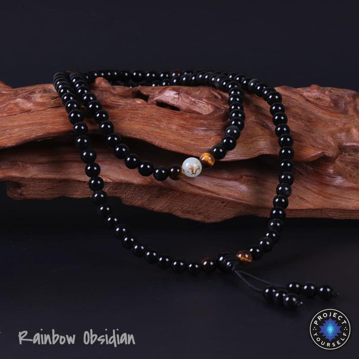 Luminous Dragon 108 Mala Bracelet
