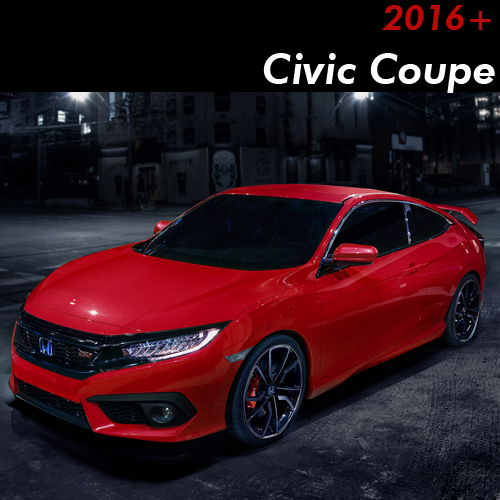 2016-2019 Civic Coupe