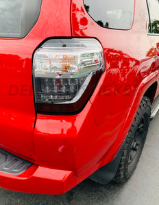Bottom Smoked Tail Light Reflector Overlays (Fits For: 2015-2020 4Runner)