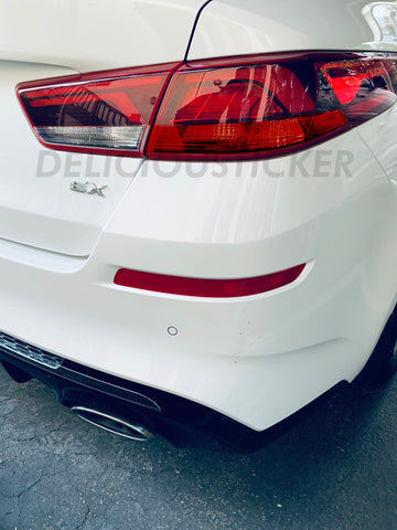 Red Tail Light Inner Signal Overlays (Fits For: 2016-2020 Optima)