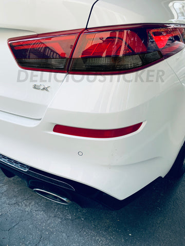 Smoked Tail Light Inner Overlays (Fits For: 2016-2020 Optima)