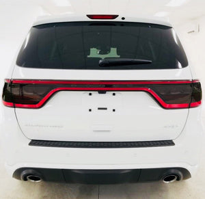 Smoked Tail Light Inner Overlays (Fits For: 2014-2020 Dodge Durango)