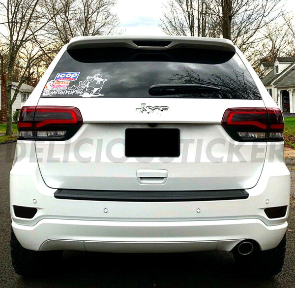 Smoked Tail Light Inner Overlays (Fits For: 2014-2021 Grand Cherokee)