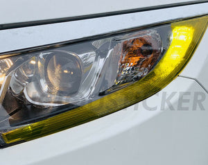 DRL Yellow Front Light Insert (Fits For: 2016-2019 Honda Civic)