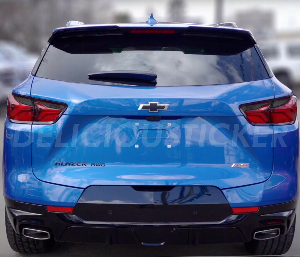 Smoked Tail Light Inner Overlays (Fits For: 2019+ Chevrolet Blazer)