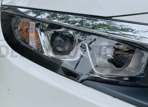 Smoked DRL Front Light Insert (Fits For: 2016-2019 Honda Civic)