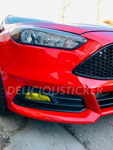 Fog Light Insert (Fits For: 2015-2018 Ford Focus ST)