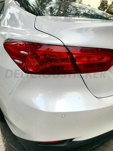 RED Tail Light Insert Overlays (Fits For: 2018 + Camry)
