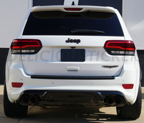 Smoked Tail Light Inner Overlays (Fits For: 2014-2020 Grand Cherokee)