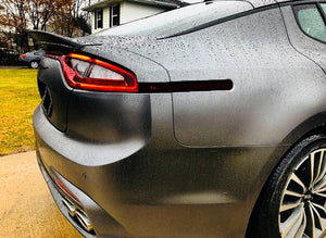 Smoked Rear Side Markers Overlays (Fits For: 2018+ Kia Stinger)