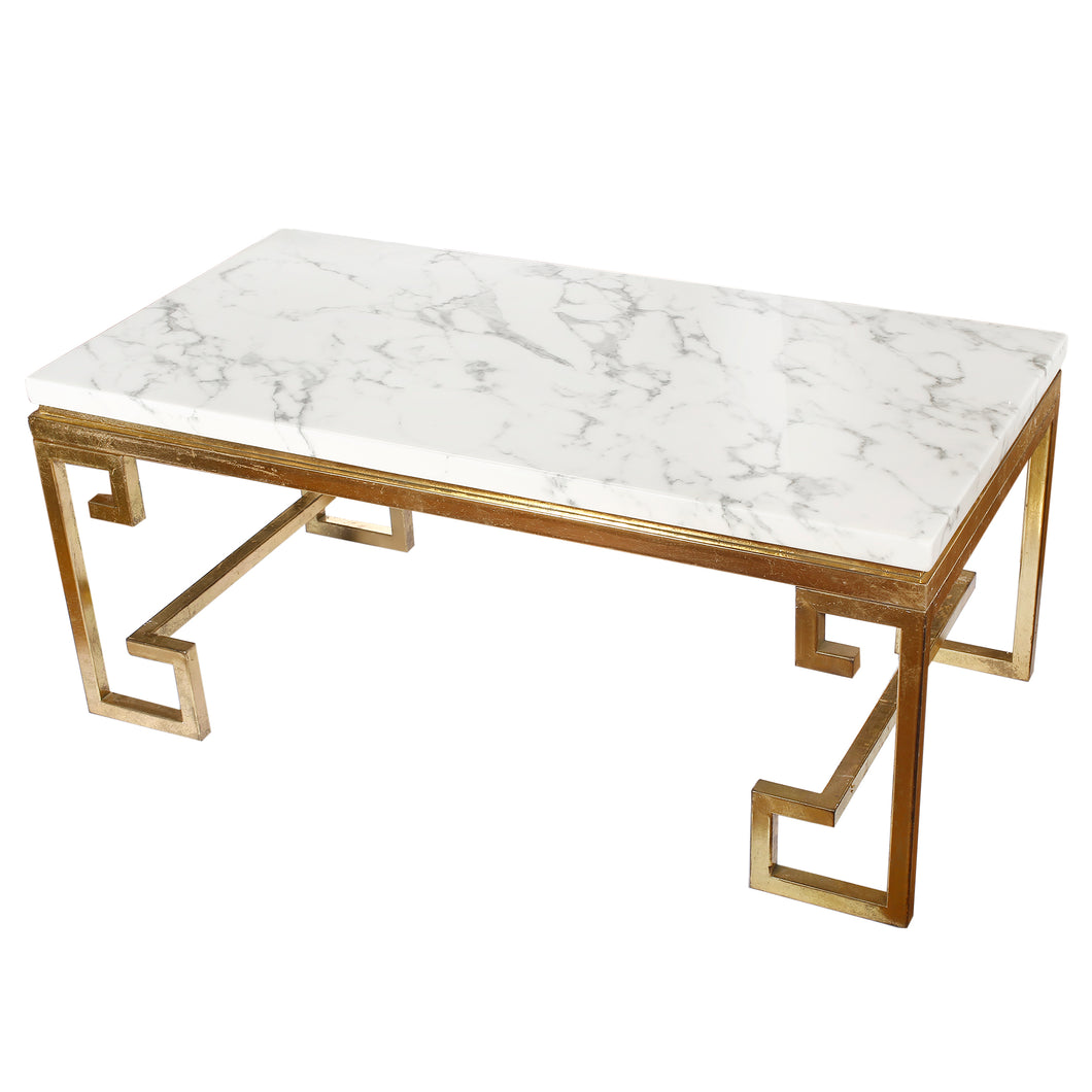 Phoenecian Nights Marble Coffee Table