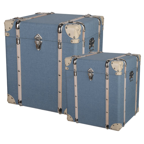 Fabric Storage Cube Trunk (Set of 2)