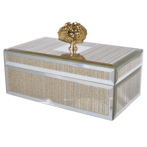 Sullivan Striped Decorative Box Small