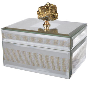 Mirrored Decorative Box (2 Sizes Available)