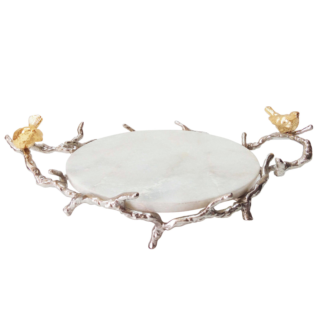 Alvada Decorative Mable Tray