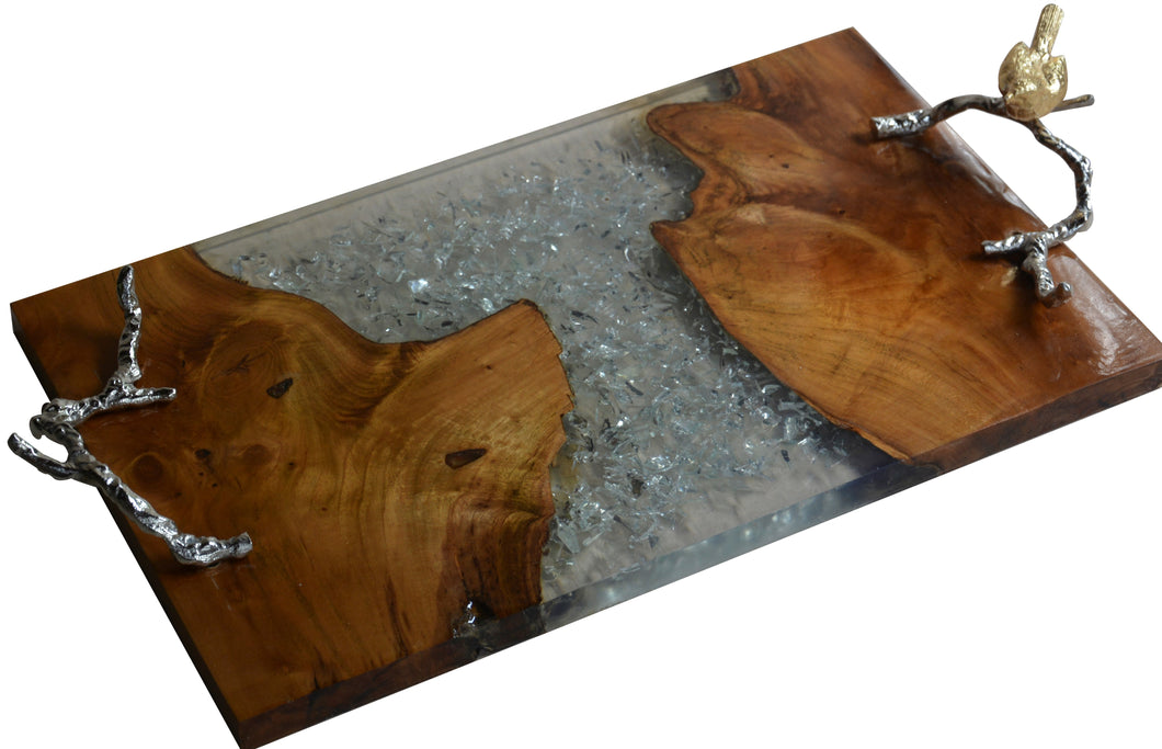 Alvada Teak Wood Tray