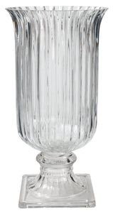 Flutex Textured Glass Vase Large