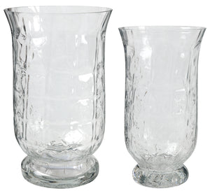 Glacier Glass Vase (Set of 2)