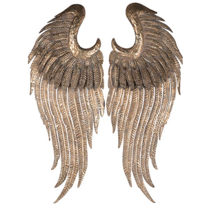 Gold Wings Wall Accent