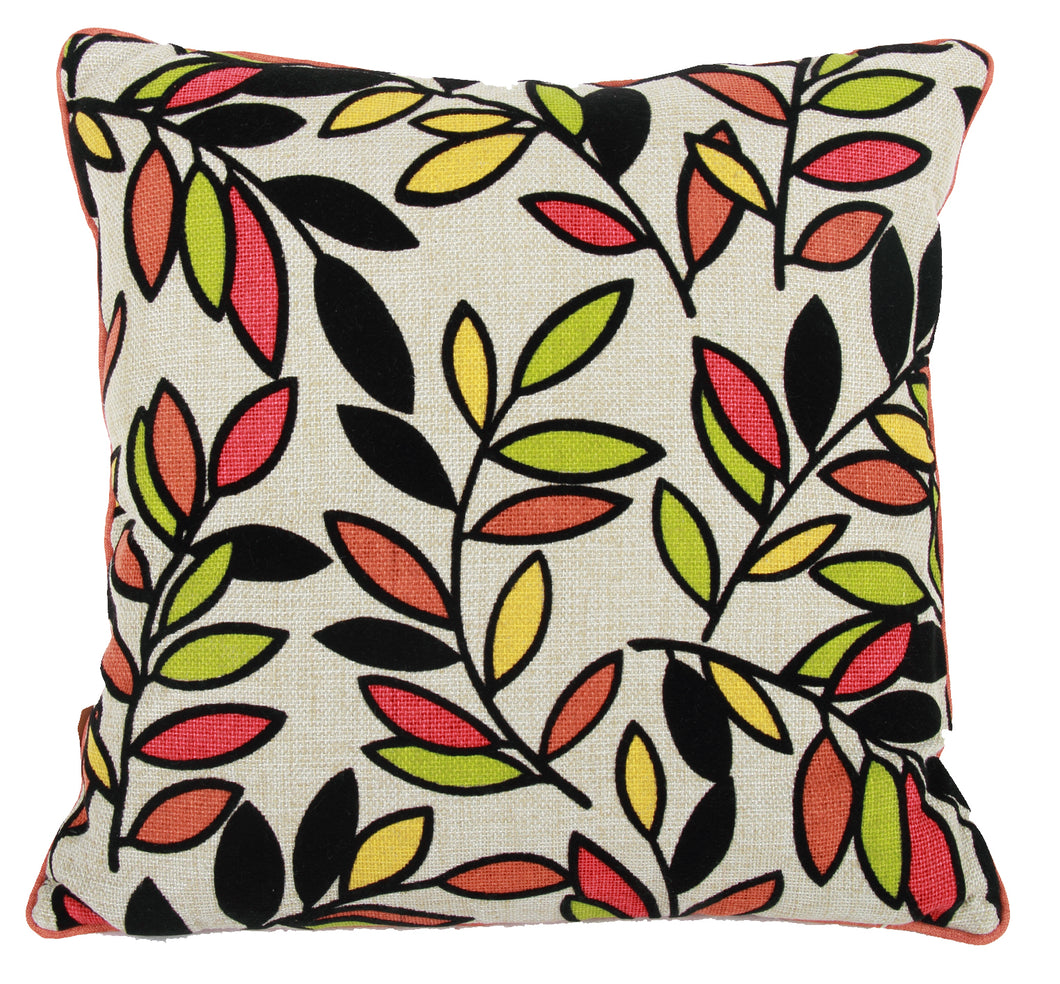 Pillow (Leaves Square Pillow - T7378)