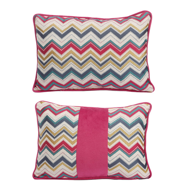Pillow (Zig-zag Rectangle Pillow - T38158)