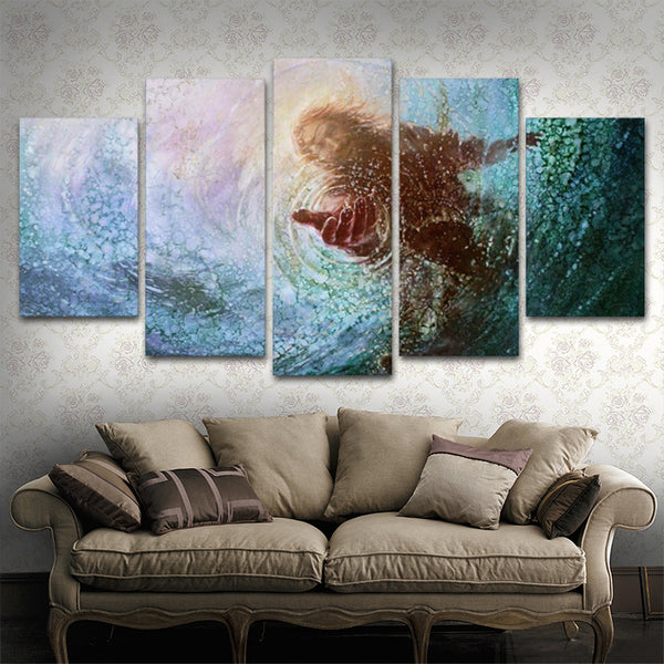 Jes calling canvas painting