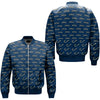FISHING 22 OVER PRINT BOMBER JACKET
