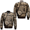 FISHING 24 OVER PRINT BOMBER JACKET