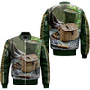 FISHING 27 OVER PRINT BOMBER JACKET