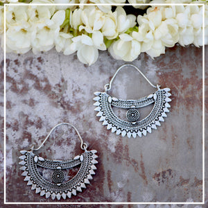 Malini - Rozaana earrings