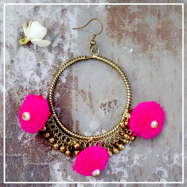 Jhumru - Rozaana earrings