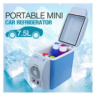 Mini Fridge for Car, Electric Car Refrigerator with Cooler and Warmer, 7.5 Liter Capacity with 12V Car Charger, Portable Ice Box for Cars - Buy from EsyExpress.com