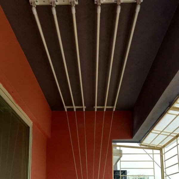 4  feet 6 rods Ceiling Cloth Drying Hanger - Buy from EsyExpress.com