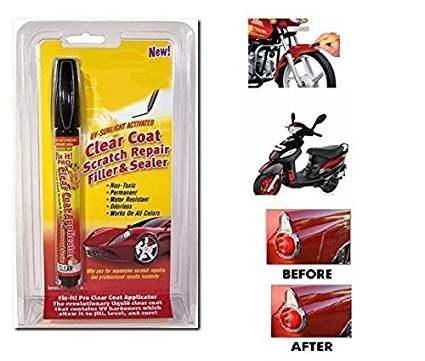 Fix It! Pro Clear Coat Applicator And Scratch Remover Scratch Repair Filler and Sealer - Buy from EsyExpress.com