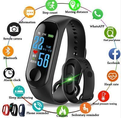 Activity Tracker/Bracelet Watch for Men/Fitness Watch for Women/Fitness Watch for Men/Health Watch/Health Band/Health Band & Activity Tracker/Wrist Smart Band/Heartbeat Watch - Buy from EsyExpress.com
