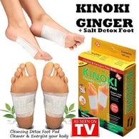 Kinoki Detox Foot Pads 10 Pack of 10pc Each(100 Pads) - Buy from EsyExpress.com