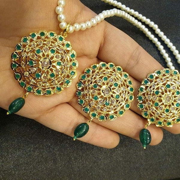 Simple Rani Haar With Chand Bali - Buy from EsyExpress.com