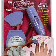 Salon Express Nail Polish Art Decoration Stamping Design Kit - Buy from EsyExpress.com