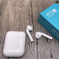 i11 Wireless Earphones White Charging Case Bluetooth Headset with Mic (White, in The Ear) - Buy from EsyExpress.com