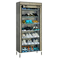 7 Layer Utility Shoe Rack Organizer (Grey) Exclusive - Buy from EsyExpress.com