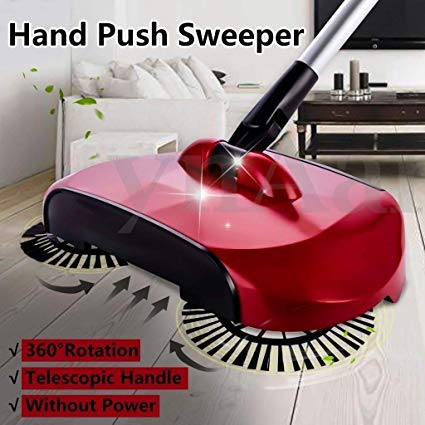 Easy Power Free Sweeper 360°Rotary Home Use Magic Manual Telescopic Floor Dust Sweeper Exclusive - Buy from EsyExpress.com