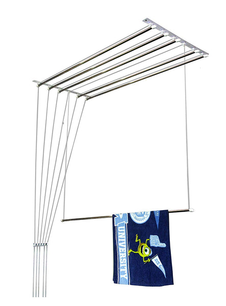 7 feet 6 rods Metal Bracket cloth Drying Ceiling Hanger - Buy from EsyExpress.com