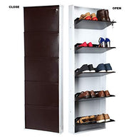 5 Shelves Regular Coffee Brown Shoe Racks - Buy from EsyExpress.com