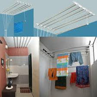 7 feet 6 rods Ceiling Cloth Drying Hanger - Buy from EsyExpress.com