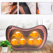 5  Pieces Professional Massage Pillow With Heat Balls And Car Adapter, Neck Shoulder Back Massager - Buy from EsyExpress.com