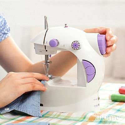 Portable 4 in 1 Mini Sewing Machine with Adapter and Foot Pedal - Buy from EsyExpress.com
