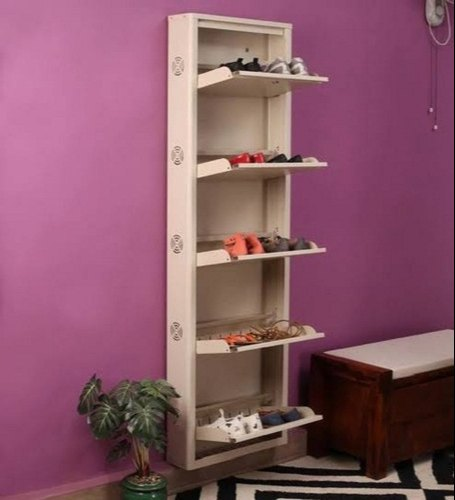 Wooden Wall Mounted Shoe Den - Buy from EsyExpress.com